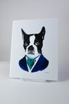 Boston Terrier print 8x10
