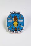 Backyard Honey Bee Club sticker