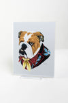 English Bulldog Print - 8x10