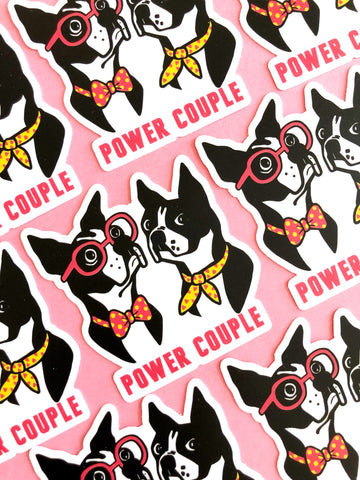 Power Couple sticker