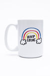 Keep Going 15 oz. mug