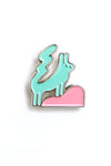 Pet Folk pin