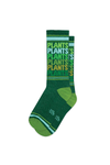 Plants Plants Plants Gym Socks