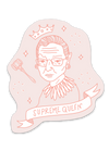 Supreme Queen sticker