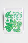 Great Frond birthday card
