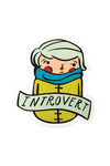 Introvert Sticker