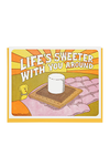 Life Is Sweeter With You Around Card