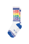 Love Rainbow Gym Socks