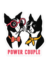 Power Couple magnet