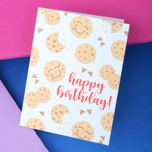 Cheerful Cookie Birthday Card