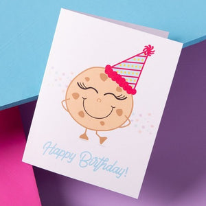 Cookie Birthday Card