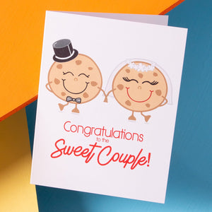 Sweet Couple - Wedding Card