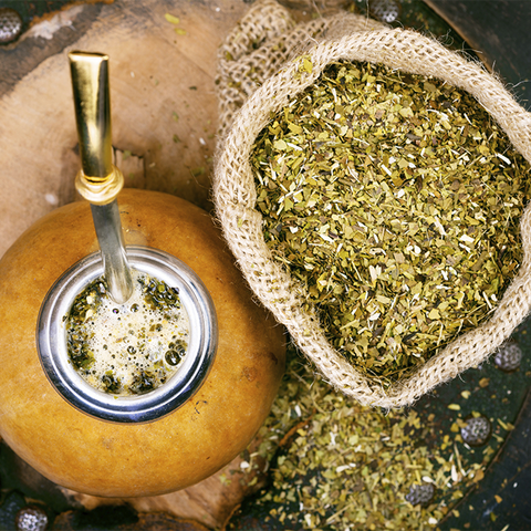 Yerba Mate Leaf Powder