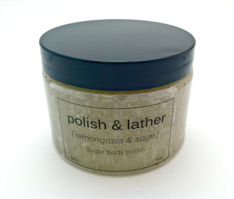 Lemongrass Sage Body Polish