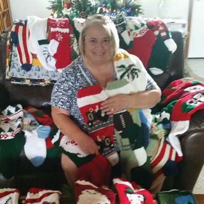 A Christmas Stocking Family Tradition with Eileen Kaiser Redmond