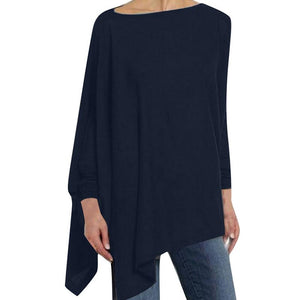 Women's Causal Long Sleeve Loose Shirt  (Also in Plus)