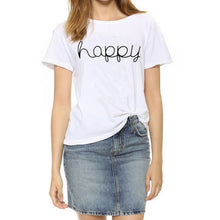 Load image into Gallery viewer, Women Fashion Graphic Print Vogue Tshirts - MULTIPLE STYLES