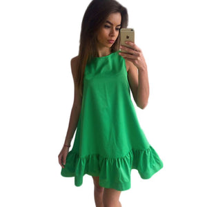 Sleeveless Summer Dress (Sizes up to XXL)