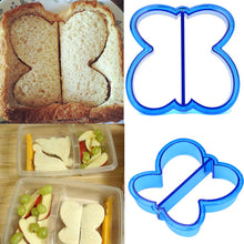 Load image into Gallery viewer, Sandwich Cutter Kids DIY Lunch Sandwich Toast