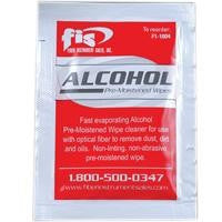 FIS Pre-Moistened Alcohol Wipes (50 pk).
