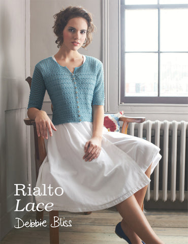 Debbie Bliss Pattern Book - Rialto Lace