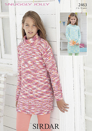 Sirdar Snuggly Jolly Pattern 2463