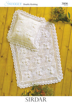Sirdar Snuggly Double Knitting Pattern 3806