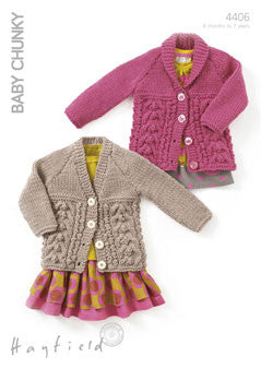 Hayfield Baby Chunky Pattern 4406