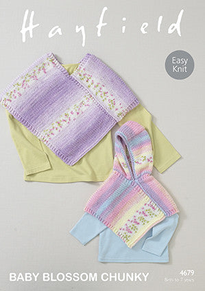 Hayfield Baby Blossom Chunky Pattern 4679
