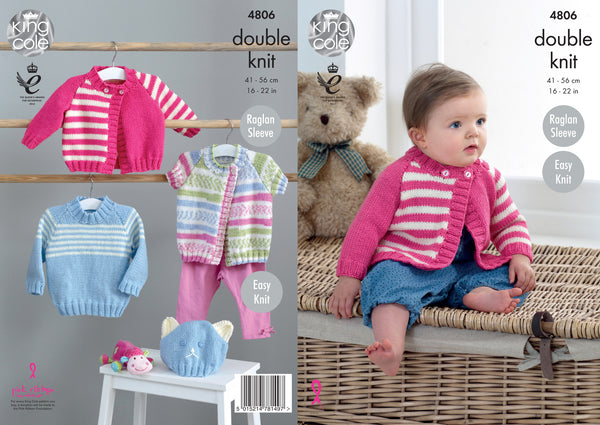 King Cole Double Knit Pattern 4806