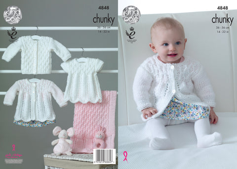 King Cole Chunky Pattern 4848