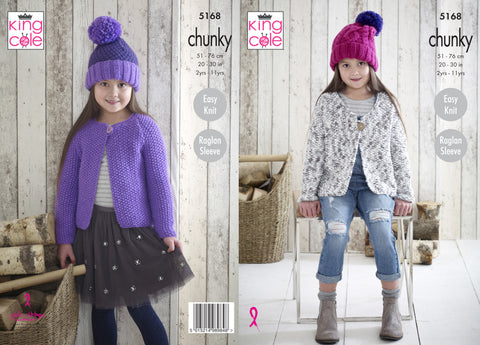 King Cole Chunky Pattern 5168