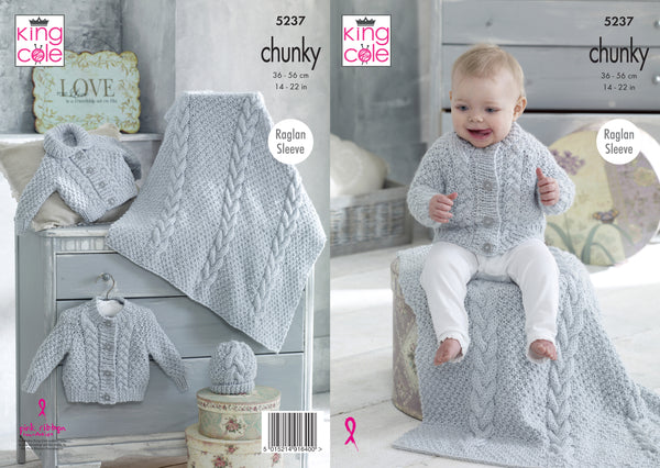 King Cole Chunky Pattern 5237