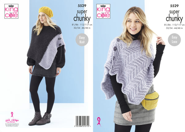 King Cole Super Chunky Pattern 5529