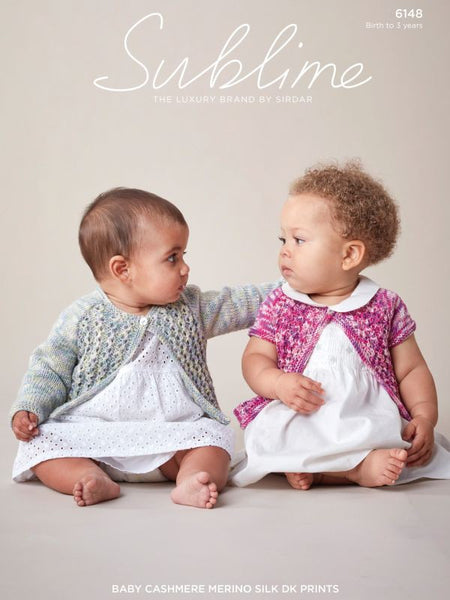 Sublime Baby Cashmere Merino Silk DK Prints Pattern 6148