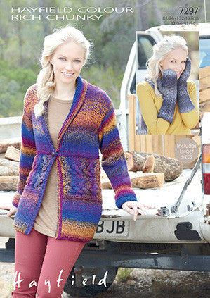 Hayfield Colour Rich Chunky Pattern 7297