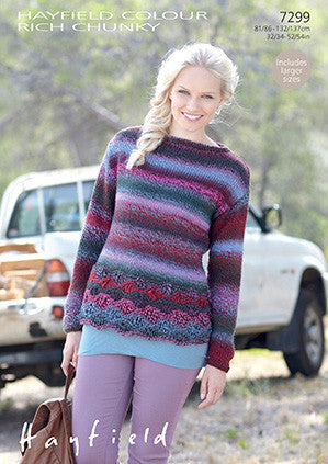 Hayfield Colour Rich Chunky Pattern 7299