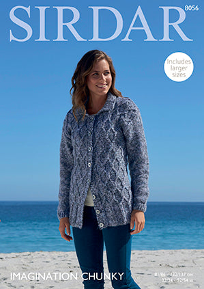Sirdar Imagination Chunky Pattern 8056