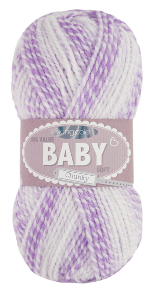 King Cole Big Value Baby Soft Chunky 100g