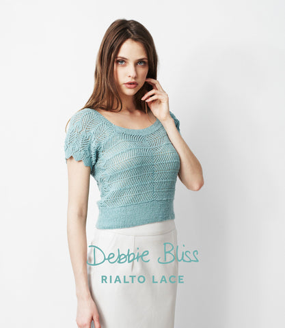 Debbie Bliss Rialto Lace Pattern DB007
