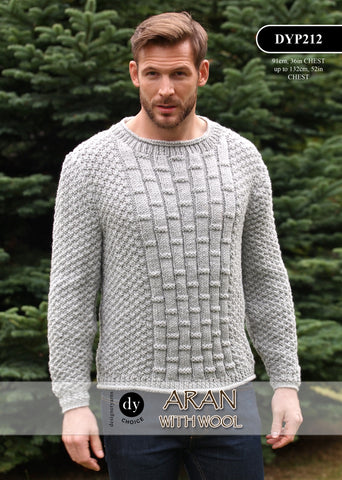 DY Choice Aran With Wool Pattern DYP212