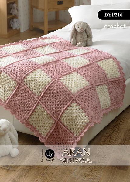 DY Choice Aran With Wool Crochet Pattern DYP216