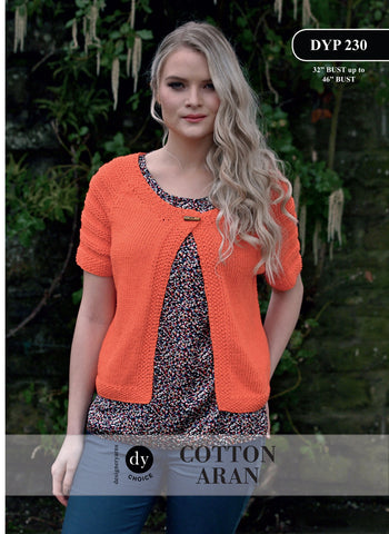 DY Choice Cotton Aran Pattern DYP230