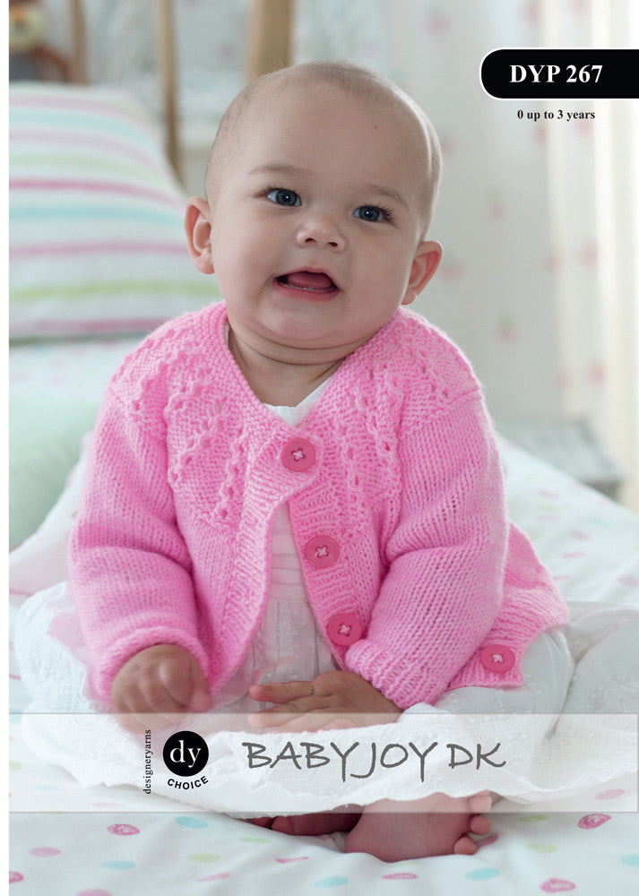 Dy Choice Baby Joy Dk Pattern Dyp267 Seaside Yarns