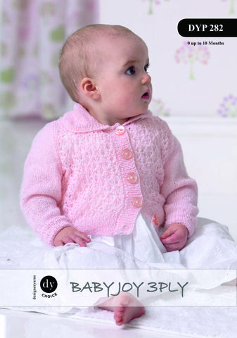 DY Choice Baby Joy 3 Ply Pattern DYP 282