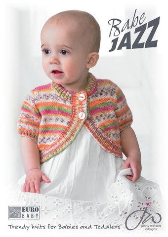 Euro Baby Babe Jazz Pattern Book EY117 / Jenny Watson Designs