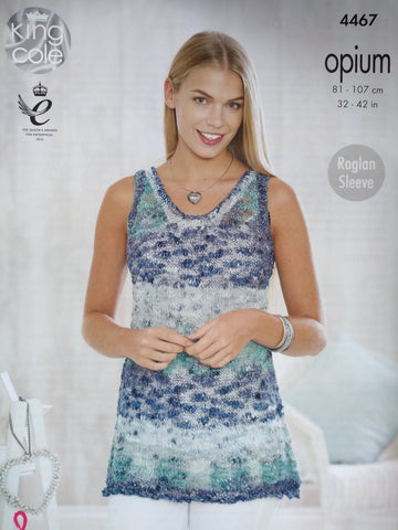 King Cole Opium Pattern 4467