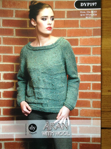 DY Choice Aran With Wool Pattern DYP197