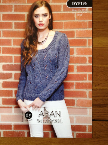 DY Choice Aran With Wool Pattern DYP196