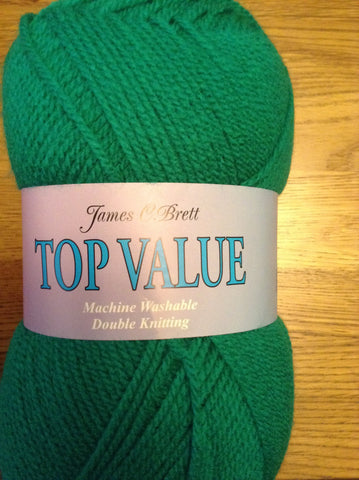 James C Brett Top Value DK 100g